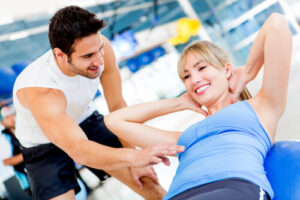 Gym Personal Trainer Coaching