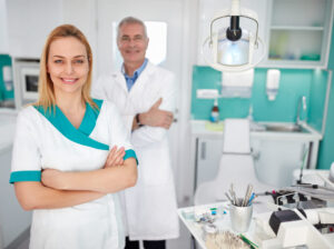 confident dentists